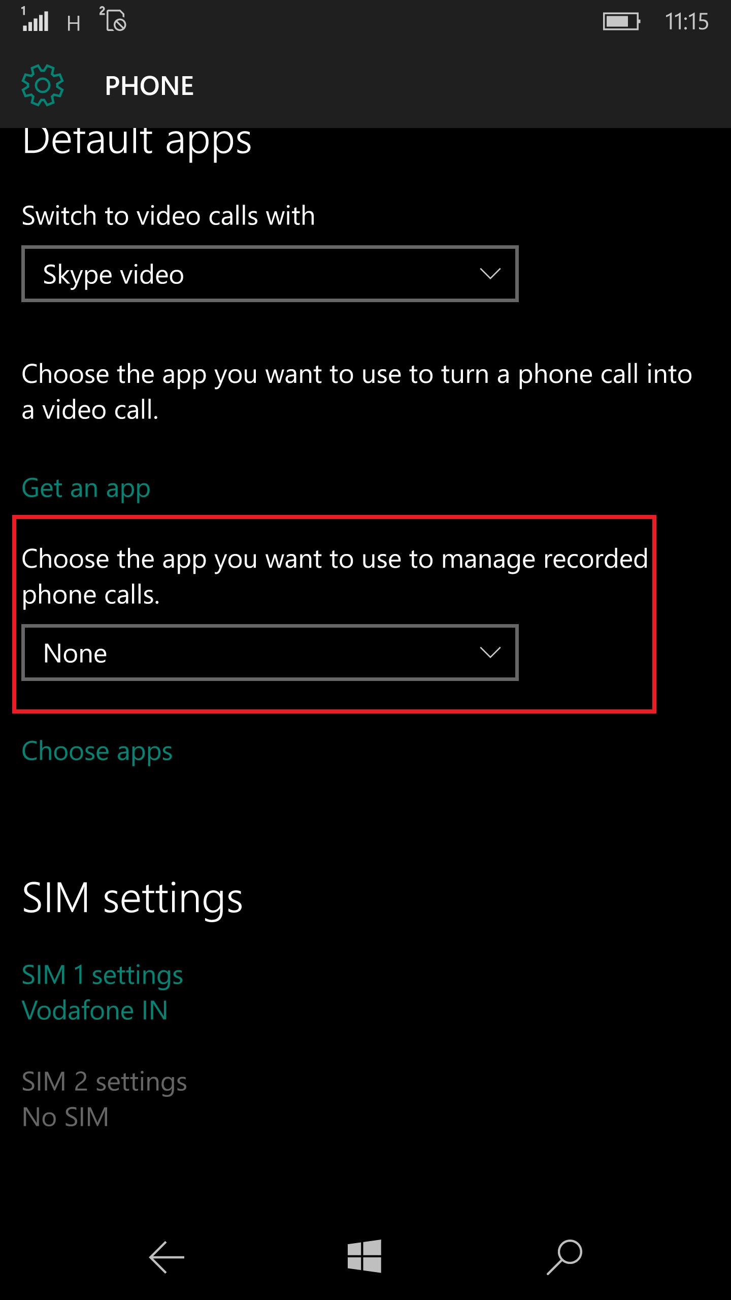 Windows 10 Call Recorder 3