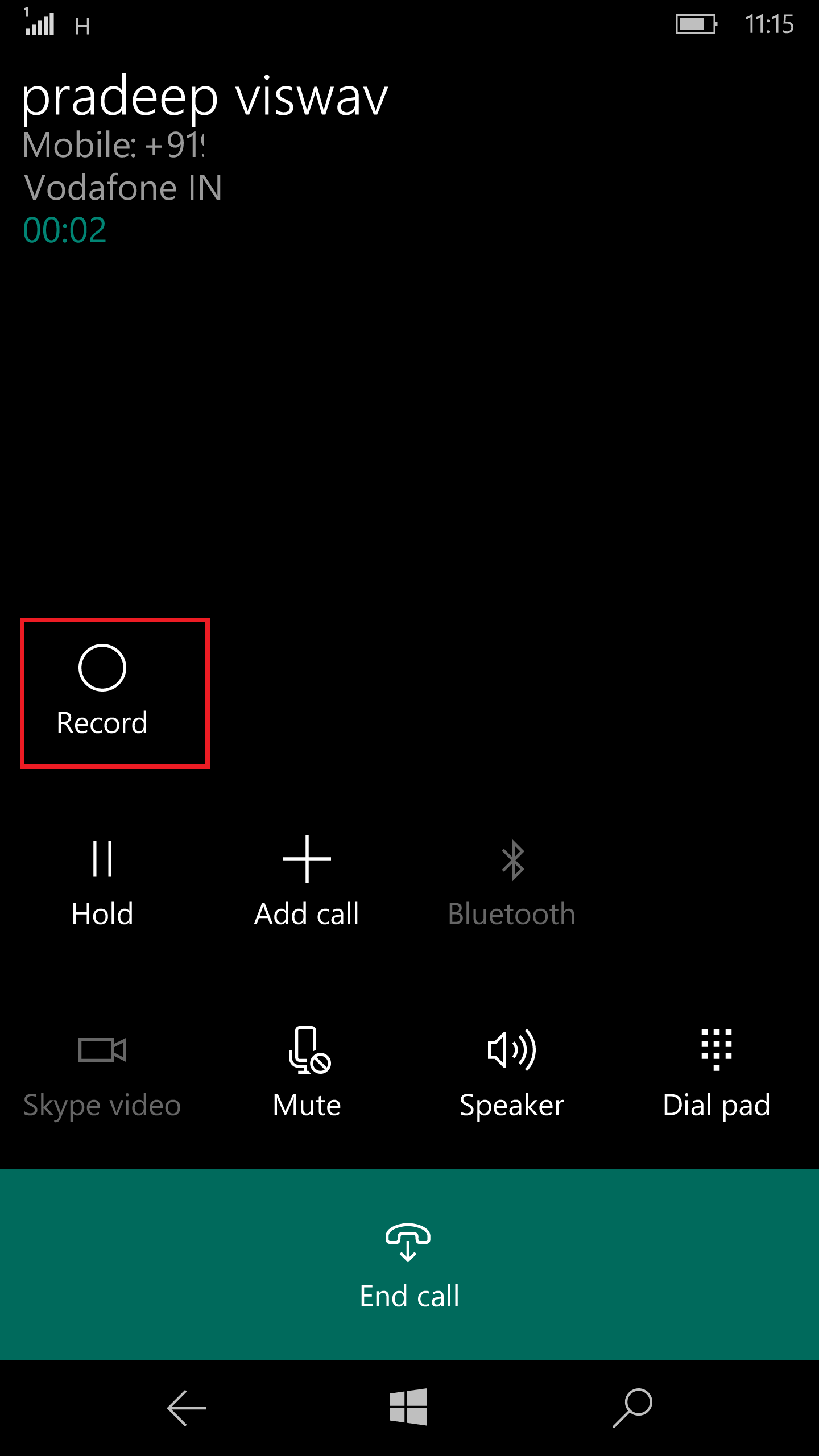 Windows 10 Call Recorder 5