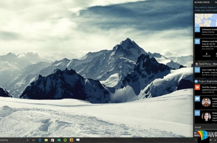 Windows 10 Redstone to reportedly bring filters and a new Card UI for the Action Centre 6