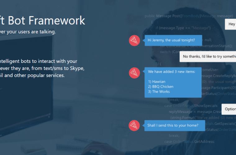 Build 2016: Microsoft introduces its Bot Framework 14