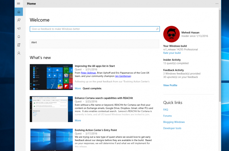 """Microsoft updates Feedback Hub with """"Language Community"""" app integration and more 23"""