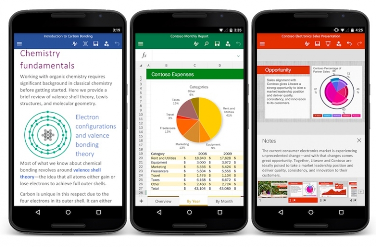 Microsoft Word, Excel, PowerPoint, and Authenticator for Android updated with new features 7
