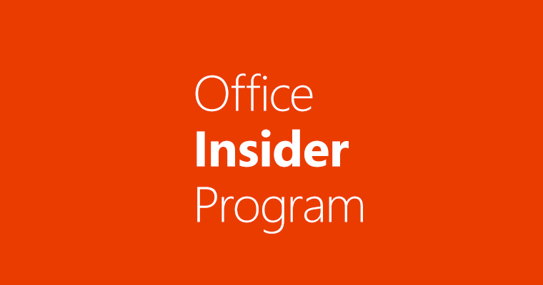 Latest Office Insider build for Windows comes with several new features 6