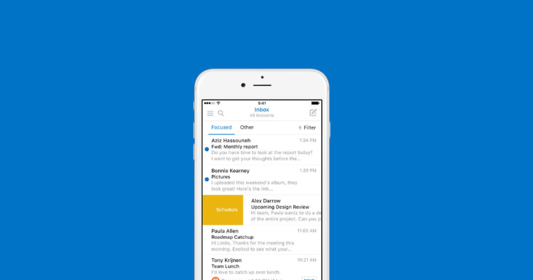 Outlook for iOS gets updated with Touch ID support and more 9