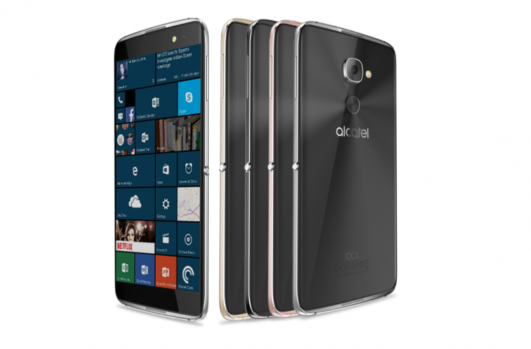 Exclusive: Alcatel to brand their Windows phone flagship as the Idol 4S with Windows 10 12