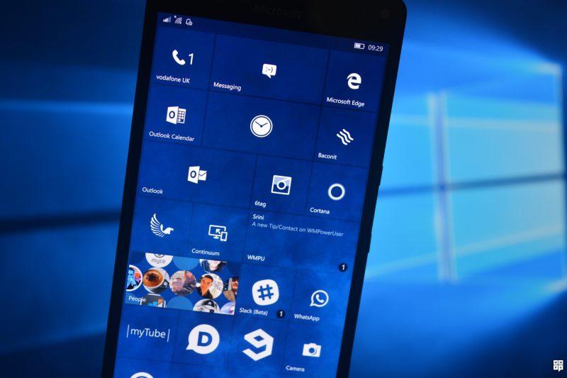 Windows 10 Mobile Build 10586.164 Changelog