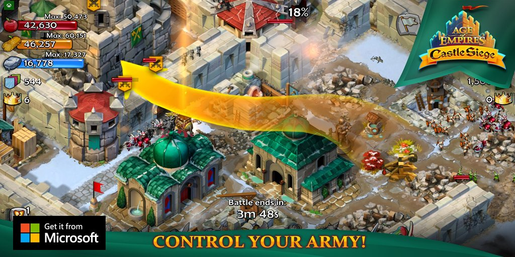 Most in app purchases on age of empires castle siege mspoweruser