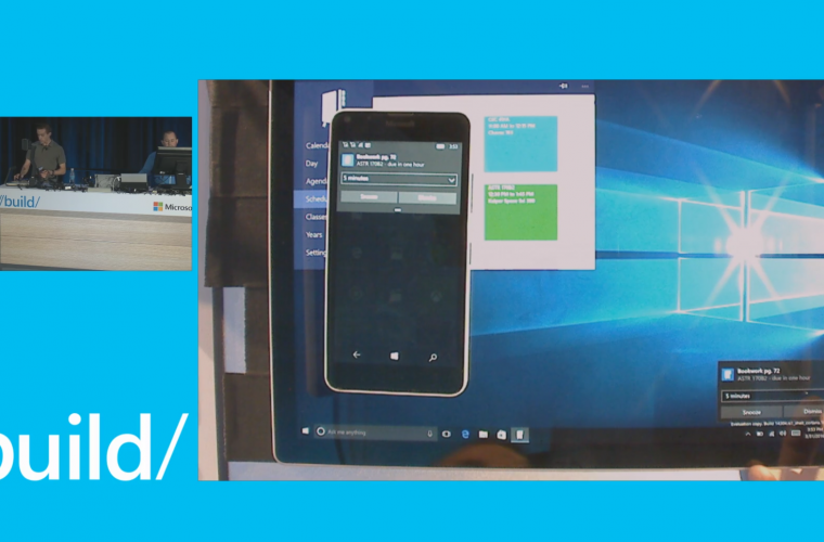 Video: A sneak peak at notification syncing in the Windows 10 Action Center 3