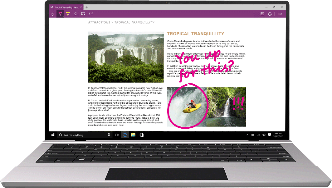 Microsoft highlights new features of Microsoft Edge in