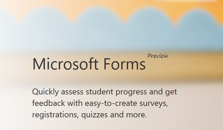 Microsoft Forms officially announced,  public preview starts today 17