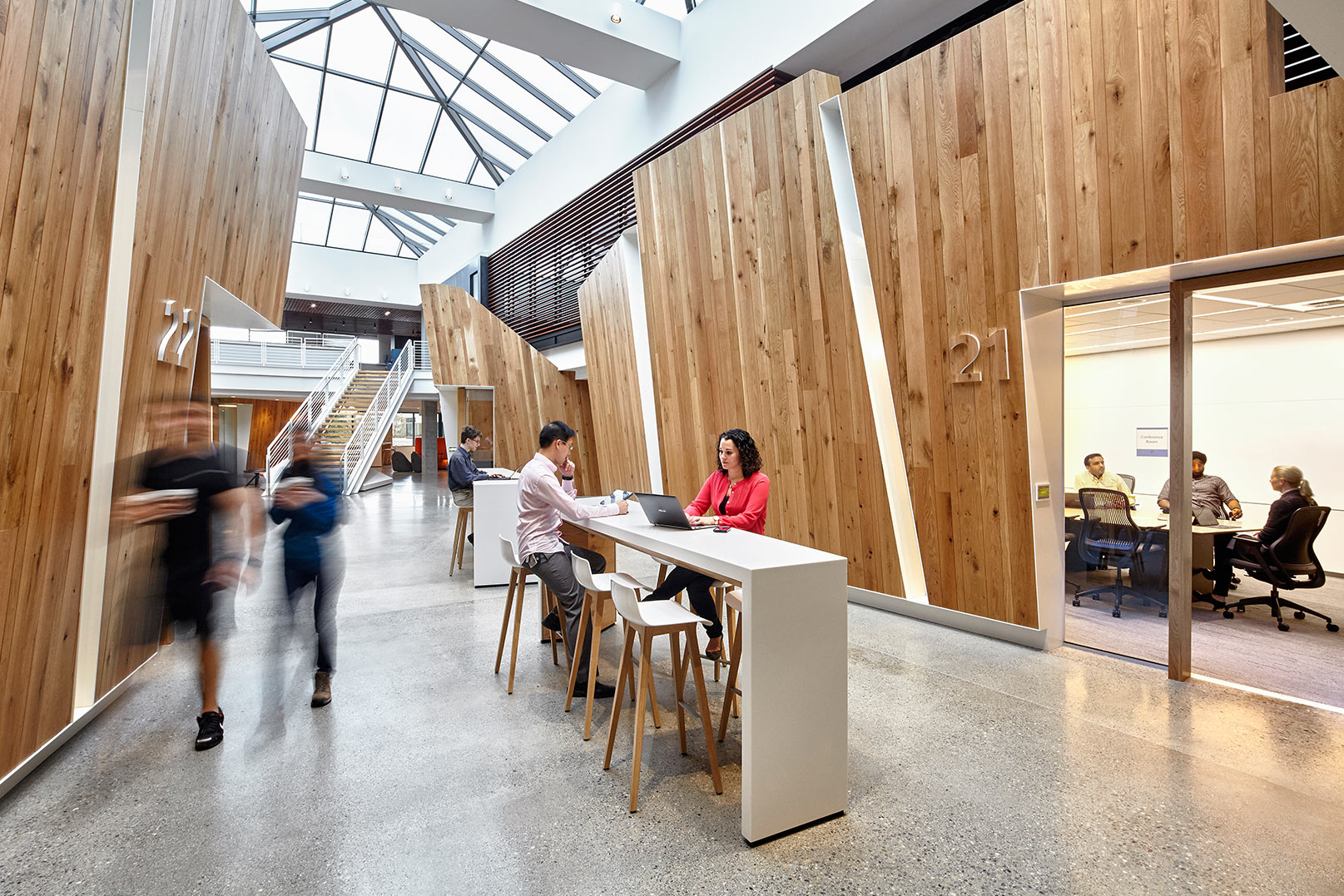 Microsoft Revamps Workspaces Inside Buildings 16 And 17 To