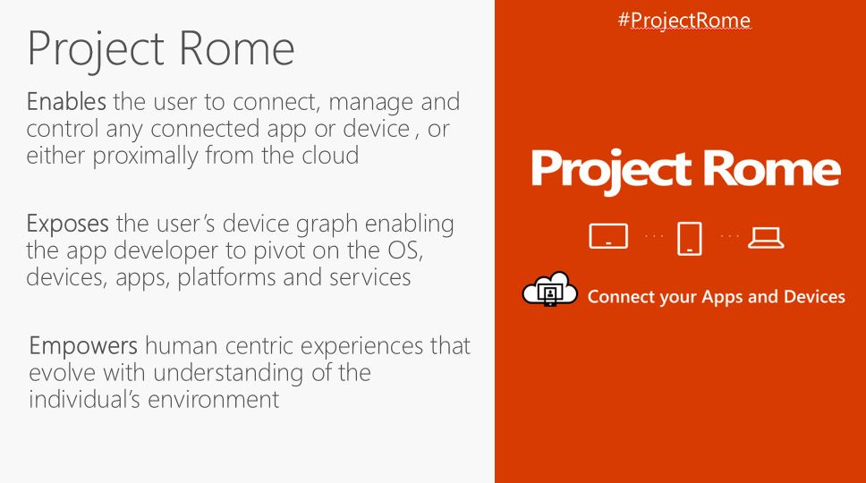 Microsoft expands Windows 10's cross platform experiences with new Project Rome SDK for iOS 1