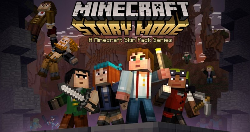 Minecraft Story Mode skinpack