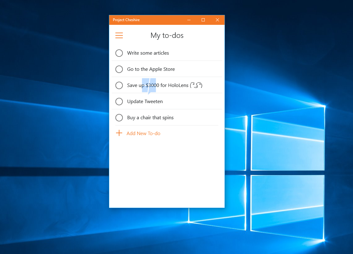 Hands-on with Project Cheshire, Microsoft's upcoming To-Do list app for Windows 10 8