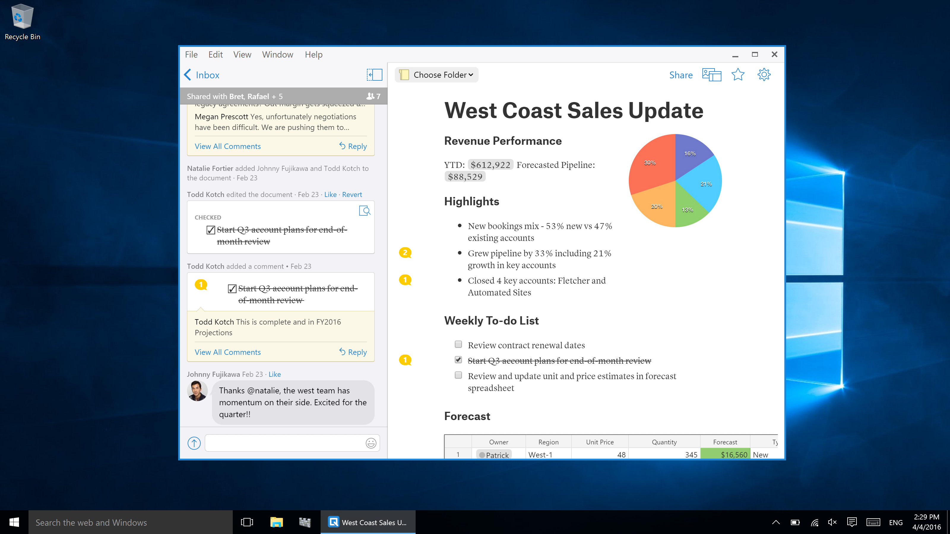 salesforce launches quip an online presentation tool to take on