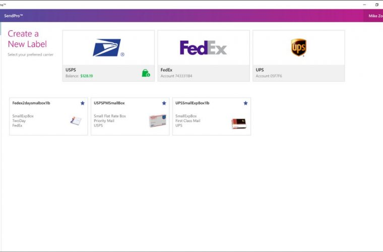 SendPro Windows app lets you prepare, manage and monitor your shipments with ease 17