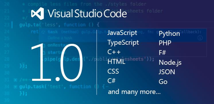 Visual Studio Code 1