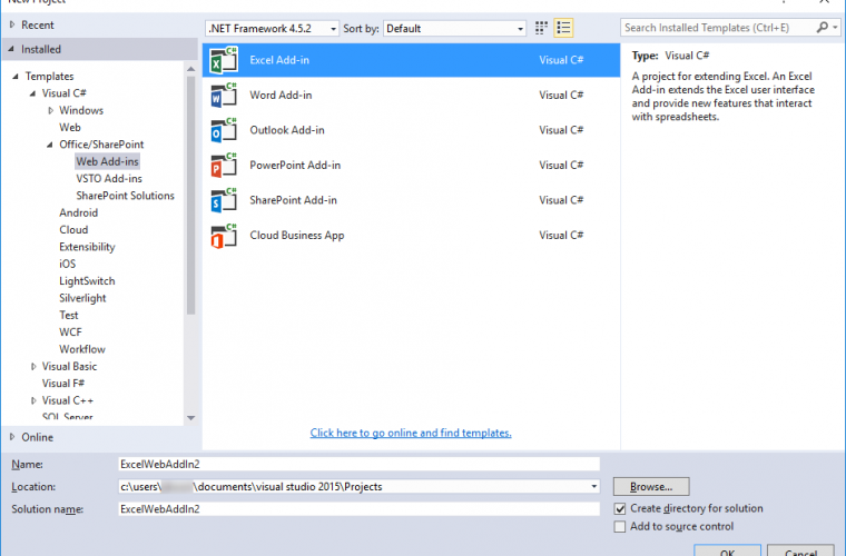 Microsoft announces Update 2 of Microsoft Office Developer Tools for Visual Studio 2015 1
