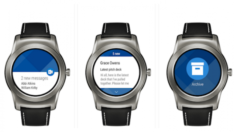 Microsoft Outlook now available for Android Wear 7