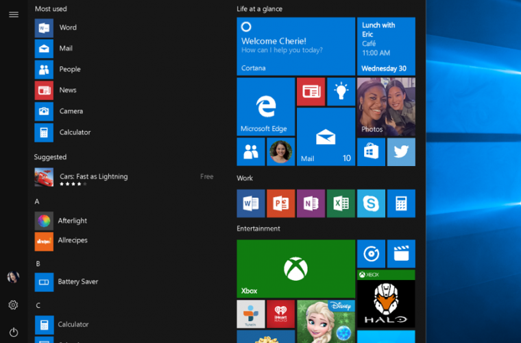 Video: Get a sneak peak of the upcoming Chaseable Live Tiles and improved Notifications in Windows 10 1