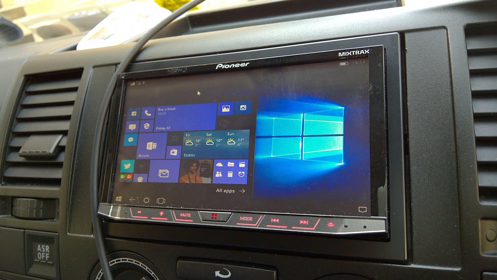 continuum in the car