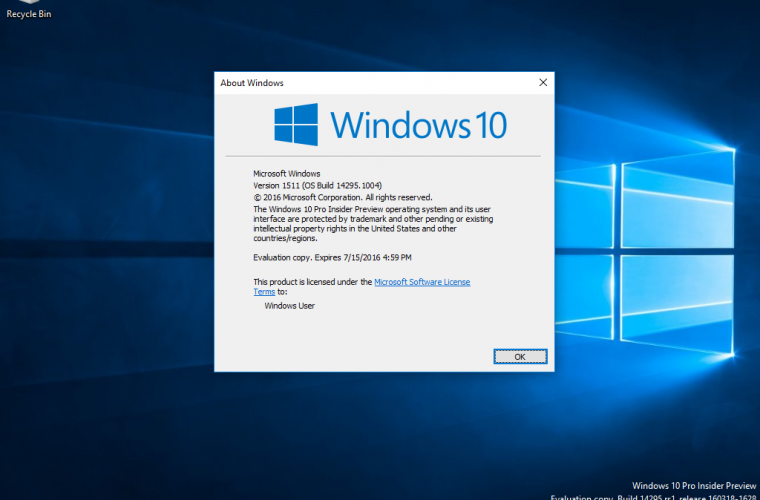 Microsoft release Cumulative Updates for all supported versions of Windows 10 7