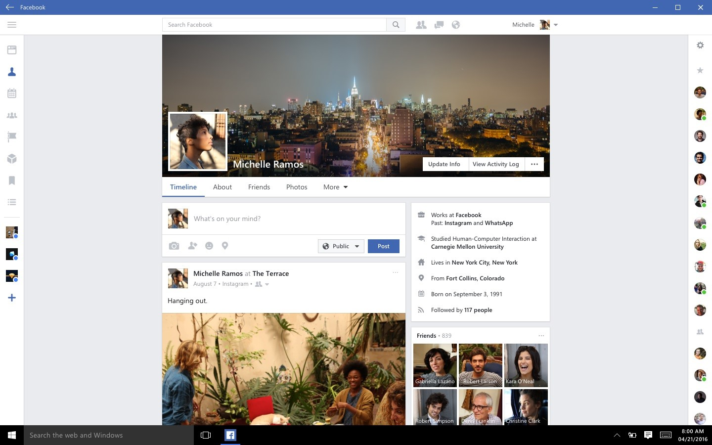 New Facebook app now available to download, Instagram out of