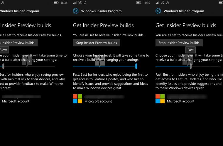 Windows 10 Mobile Redstone will get native Windows Insider program integration soon 8
