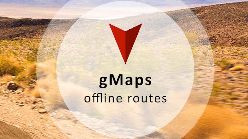 gmaps offline