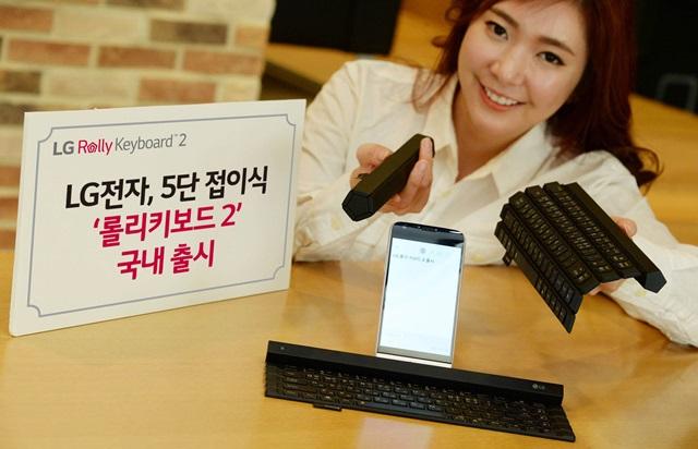LG Rolly 2 Bluetooth keyboard rolls into the market 3