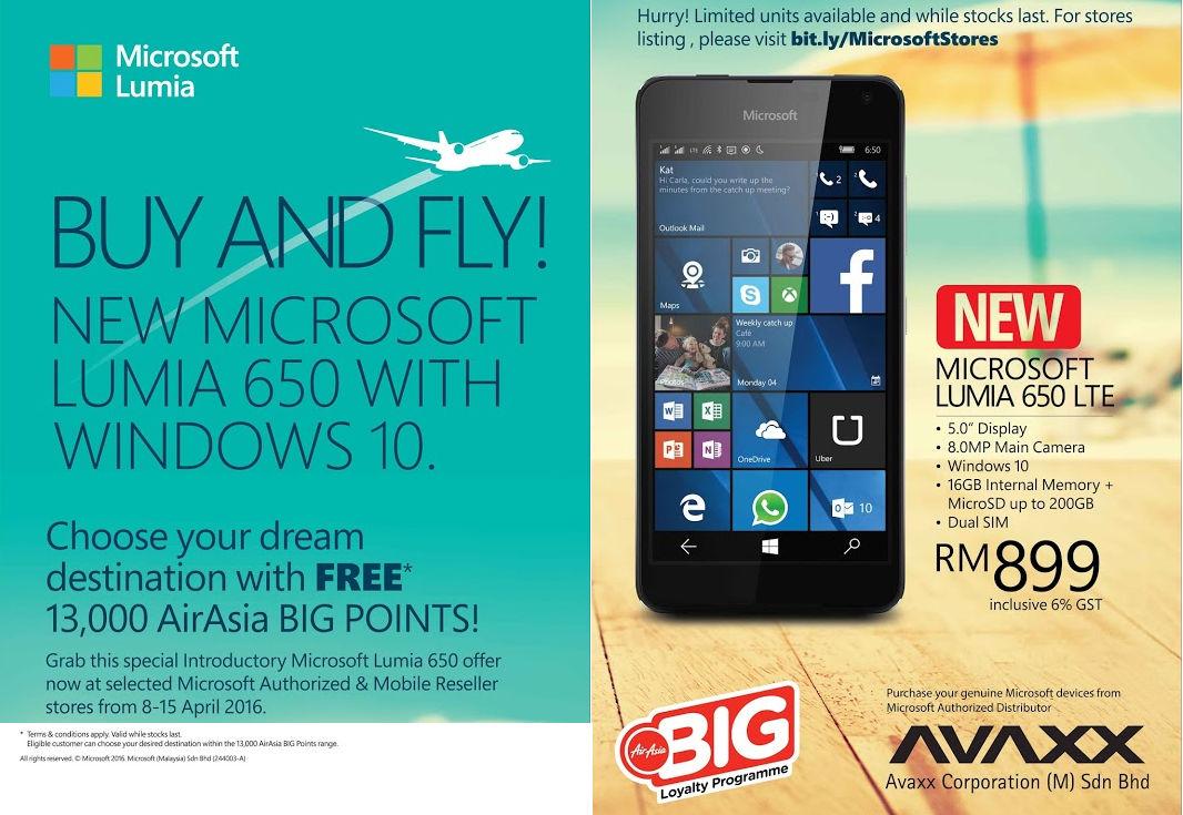 lumia 650 malaysia deal full