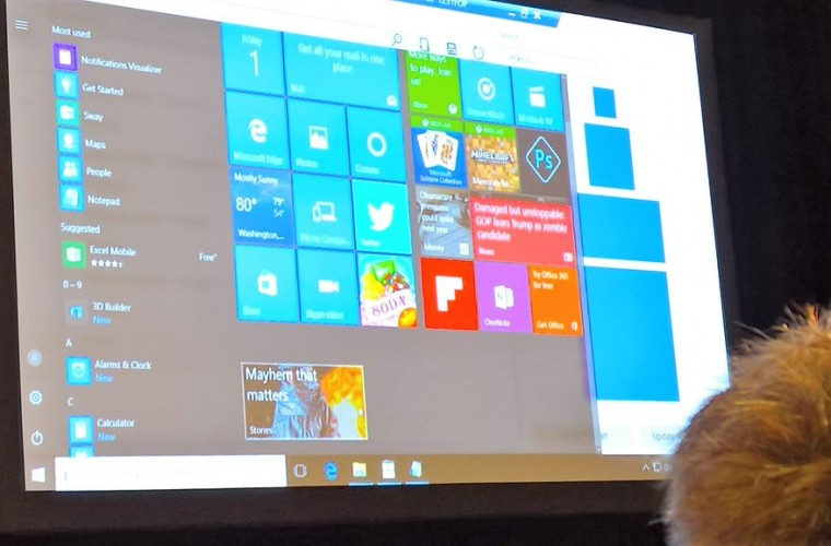 """Build 2016: Windows 10 to get """"Chaseable Live Tiles"""" 8"""