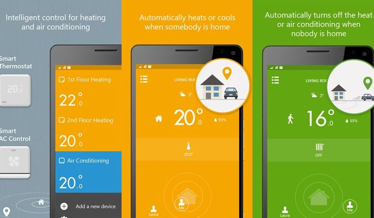 """Tado smart thermostat Universal Windows App updated with """"various improvements"""" 15"""