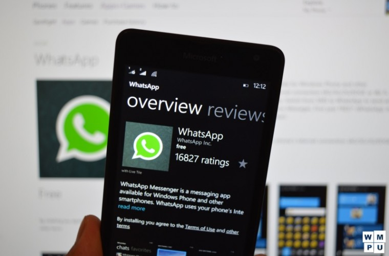 WhatsApp will drop support for Windows Phone 8 and older devices from December 31st 1