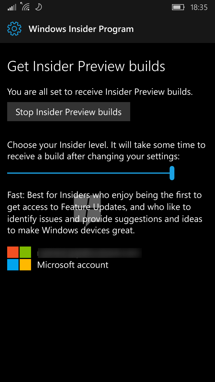 Windows 10 Mobile Redstone will get native Windows Insider program integration soon 6
