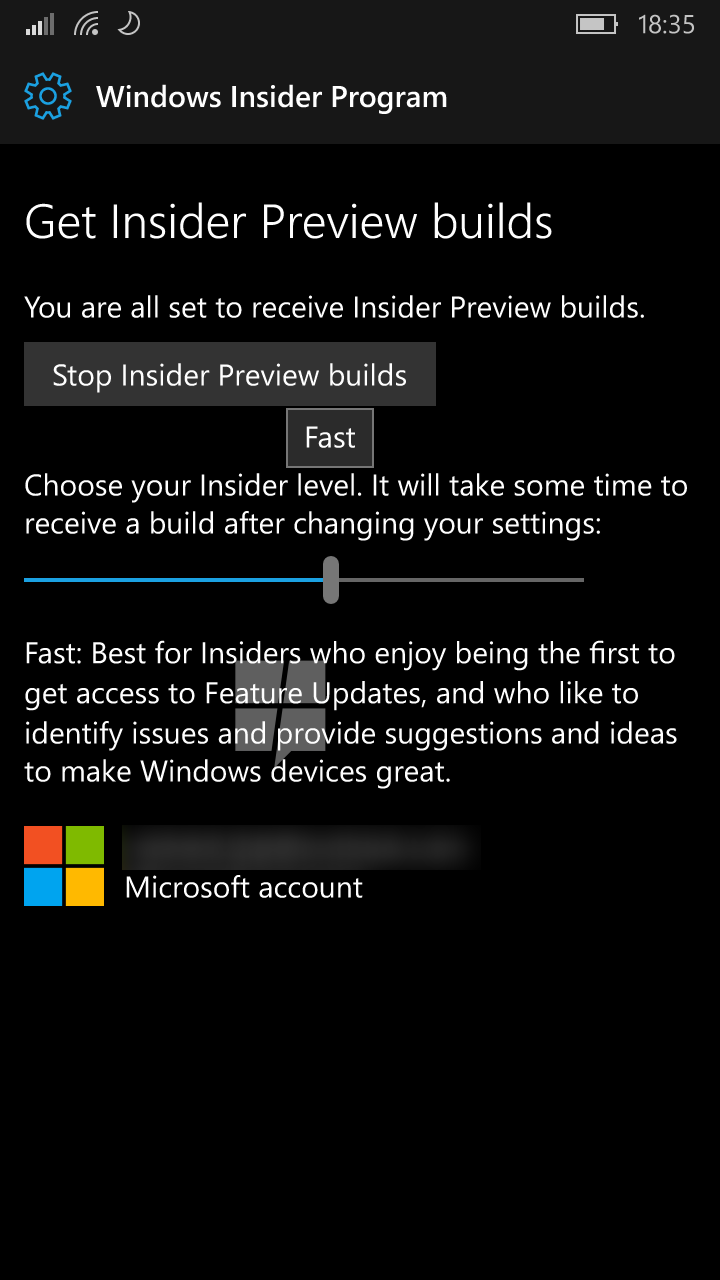 Windows 10 Mobile Redstone will get native Windows Insider program integration soon 5