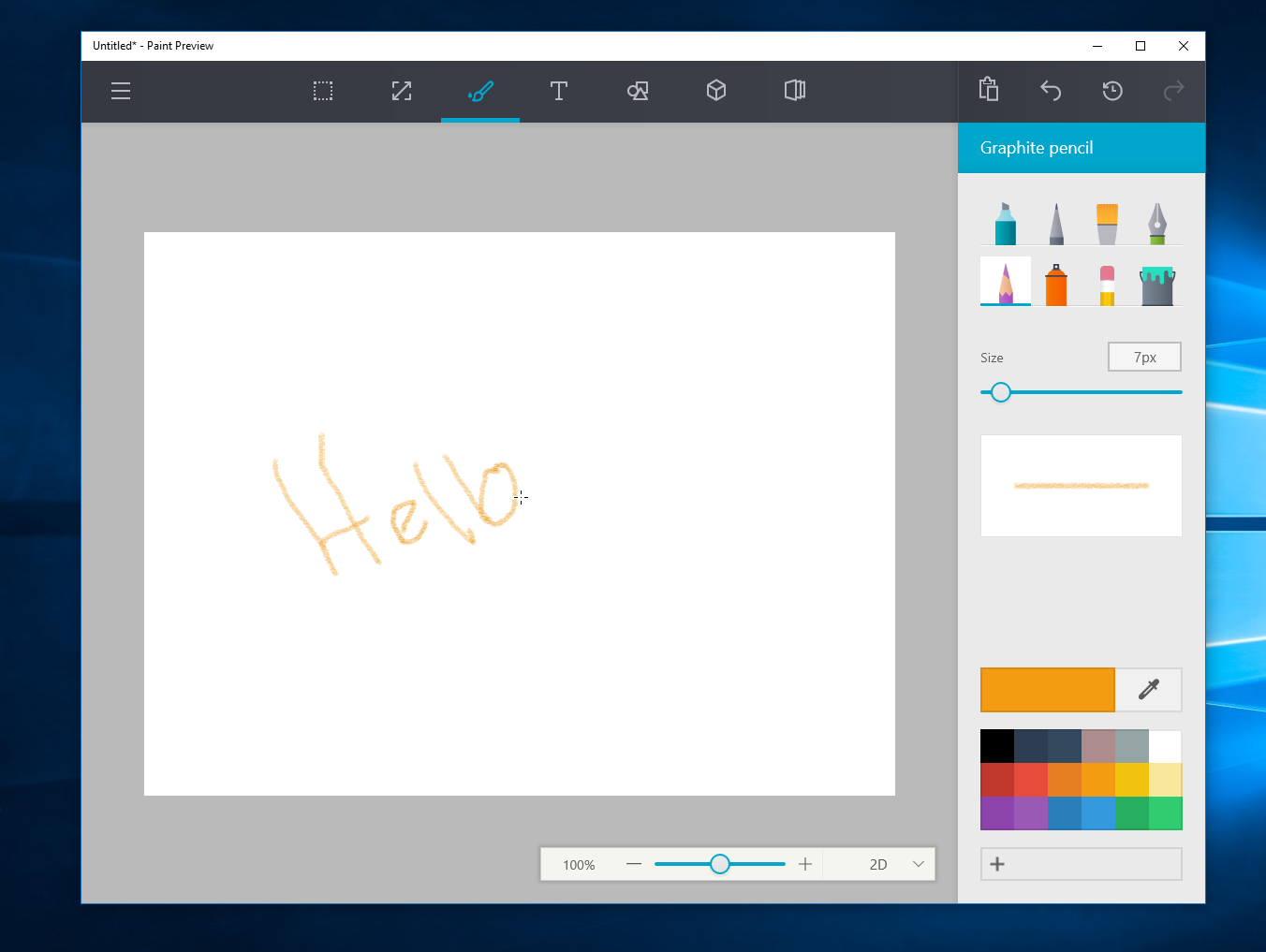 Watch Microsoft S Upcoming Redesigned Paint App For Windows
