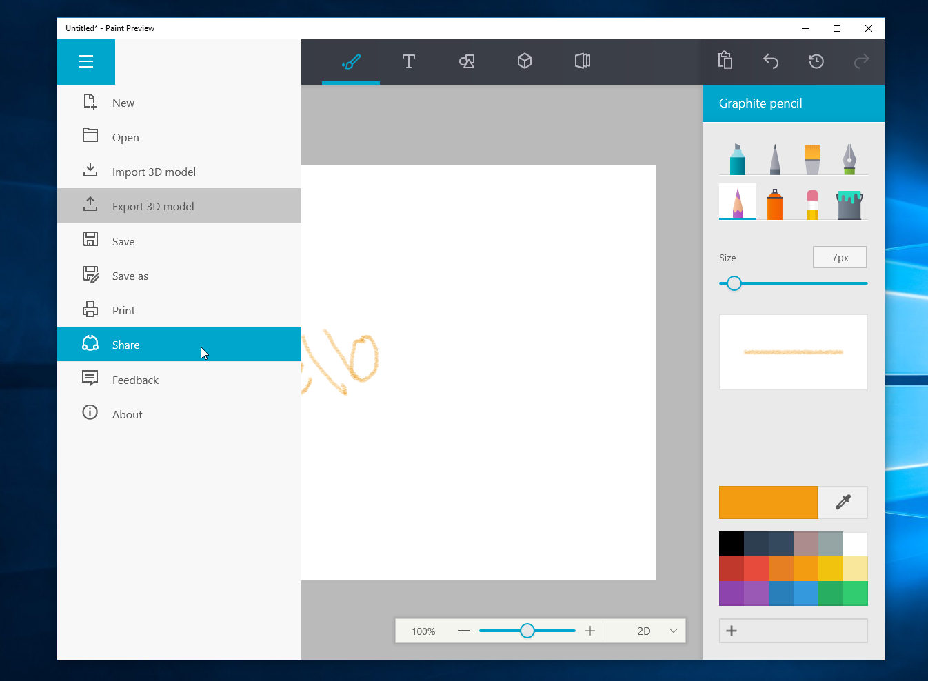 Watch Microsoft's upcoming redesigned Paint app for Windows 10 in action 3
