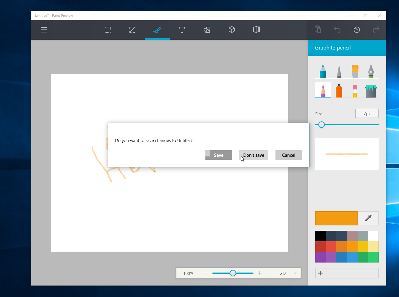 Watch Microsoft's upcoming redesigned Paint app for Windows 10 in action 4