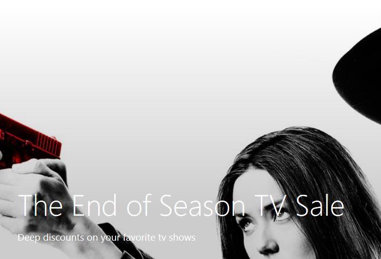 End of season Windows Store