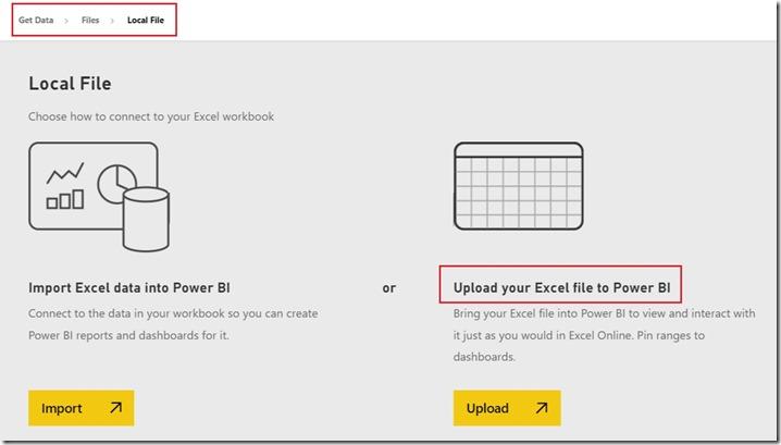 Excel Power BI