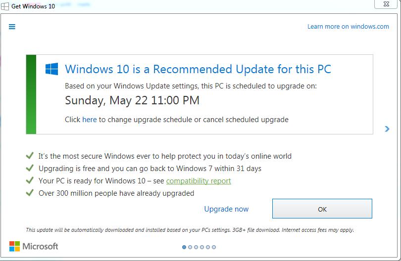 turn off automatic update windows 8