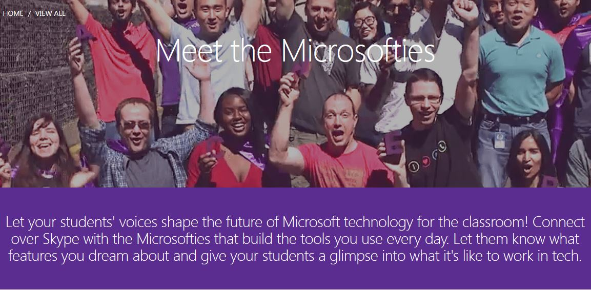 Meet the microsofties