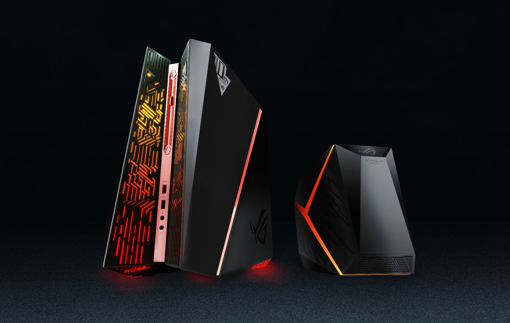 asus announces world s most powerful compact gaming desktop mspoweruser. Black Bedroom Furniture Sets. Home Design Ideas