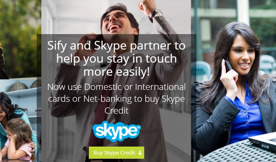 Skype Sify