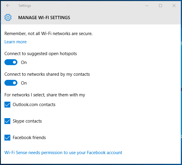 Microsoft is removing Wi-Fi Sense feature that allows you to
