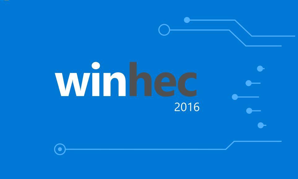 WinHec 2016 Microsoft