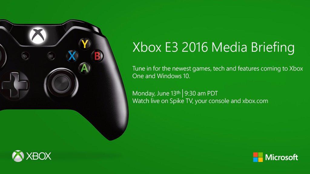 Xbox E3 2016 Media Briefing