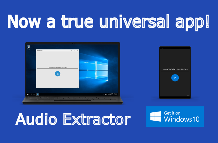c48fd3956 Developer Submission  Audio Extractor comes to the PC with the latest update !