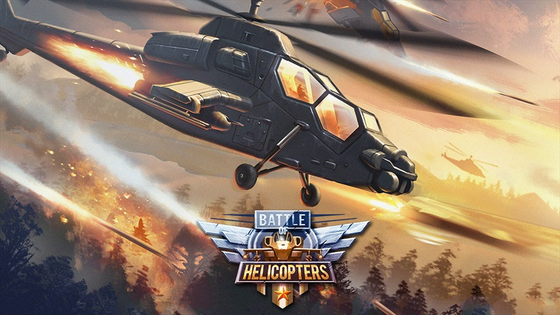 battle of helicopers